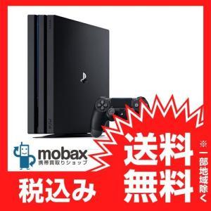 ★キャンペーン中★※保証書未記入【新品未使用】SONY PlayStation4 Pro [HDD 1TB]ジェットブラック(CUH-7000BB01) PS4Pro|mobax