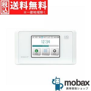 キャンペーン◆※判定〇※保証書未記入【新品未使用】UQモバイル版 Speed Wi-Fi NEXT WX05 [ピュアホワイト] NAD35SWU 白ロム Wi-Fiルーター WiMAX 2+|mobax
