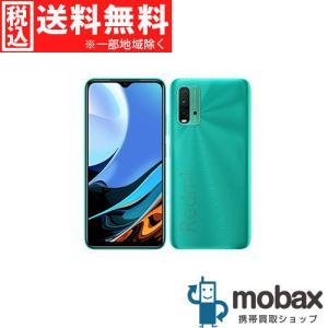 ◆キャンペーン《国内版SIMフリー》【新品未開封品(未使用)】 Xiaomi Redmi 9T 4GB 64GB [オーシャングリーン] 白ロム Android シャオミ|mobax