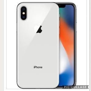 docomo iPhone X 64GB シルバー ドコモ MQAY2J/A   新品未使用  A1902 一括購入品 iPhone X Silver 赤ロム永久保証 白ロム|mobaxfukuoka