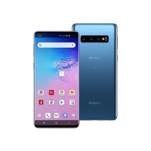 docomo SC-03L Galaxy S10 SIMフリー 本体 新品未使用 正規SIMロック解除済み  ブルー Prism Blue  一括購入品   税込送料無料 白ロム|mobaxfukuoka