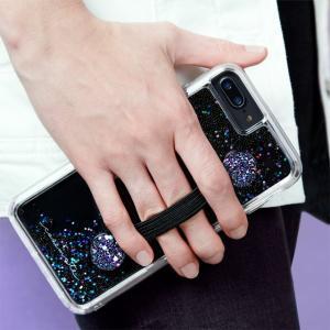 【Case-Mate/ケースメイト】 「Straps (Black Glitter)」 グリッターが特徴的なハンドグリップストラップ|mobile-f