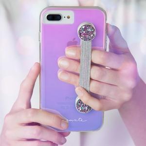【Case-Mate/ケースメイト】 「Straps (Pink Glitter)」 グリッターが特徴的なハンドグリップストラップ|mobile-f