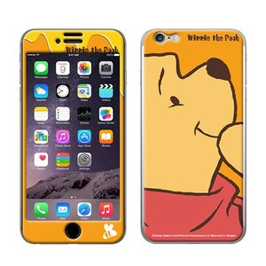 iPhone6 iPhone6S 【Disney(ディズニー)xGizmobies(ギズモビーズ)】 「Pooh the face」 プー プロテクター カバー|mobile-f