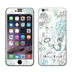 iPhone6 iPhone6S 【shinzikatoh(シンジカトウ)xGizmobies(ギズモビーズ)】 「Alice」 アリス プロテクター カバー|mobile-f