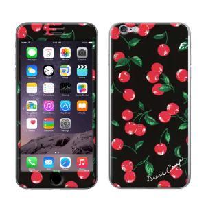 iPhone6 iPhone6S 【DRESSCAMP(ドレスキャンプ)×Gizmobies(ギズモビーズ)】 「Cherry」 プロテクター カバー|mobile-f