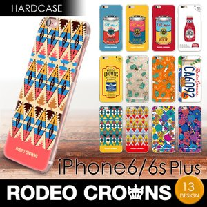 iPhone6Plus iPhone 6sPlus RODEO CROWNS/ロデオクラウンズ 「ハードケース」 アイフォン プラス|mobile-f