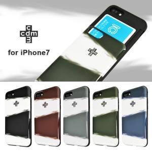 iPhone8 iPhone7 cdm/シーディーエム 「シェルケース/SKY」 ブランド IC カード収納|mobile-f