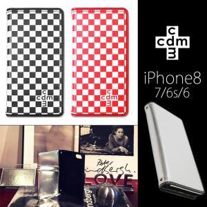 iPhone8/7/6s/6 cdm/シーディーエム 「ベーシック」 手帳ケース|mobile-f