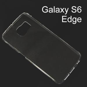 Galaxy S6 Edge 「 ハードケース」 デコレーション 透明 クリア|mobile-f