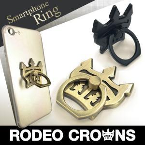RODEO CROWNS/ロデオクラウンズ スマホリング 「クラウン」 バンカーリング スマホアクセサリー|mobile-f