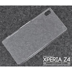 Xperia Z4 SO-03G/SOV31 「クリアケース」 デコレーション 素材 ハード 透明|mobile-f