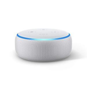 Amazon Echo Dot 第3世代 - スマートスピーカー with Alexa、サンドストー...