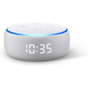 Amazon Echo Dot 第3世代 - スマートスピーカー時計付き with Alexa、サン...