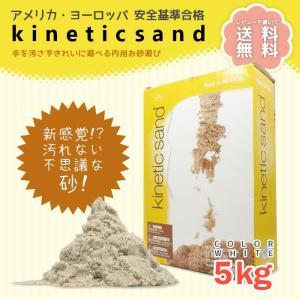 キネティックサンド kinetic Sand 5kg 室内用...