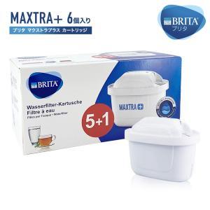 ブリタ カートリッジ マクストラ プラス 5+1 1箱 6個入 BRITA MAXTRA PLUS + 交換用フィルターカートリッジ ポット型浄水器 [送料無料]|mobile-garage1