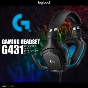 ゲーミングヘッドセット ワイヤレス ゲーム G431 【9418】Logicool G ロジクール ...