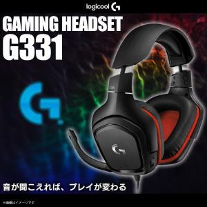 ゲーミングヘッドセット ワイヤレス ゲーム G331 【9036】Logicool G ロジクール2...