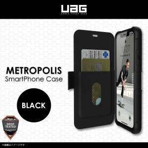 iPhone 11 手帳型ケース UAG-IPH19MF-BK 【1197】UAG  Metropo...