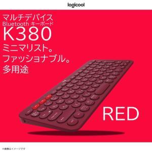 キーボード ワイヤレス Bluetooth ロジクール K380RD 【3201】Logicool ...