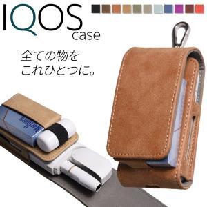 アイコス ケース iQOS 2.4 Plus レザー 革 ホルダー 電子タバコ カバー 収納ケース ...