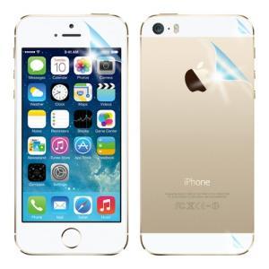 iPhone5s AFPボディフィルムセット(両面保護フィルムセット) 指紋防止 自己修復 防汚 気泡消失 ASDEC アスデック AFP-IPN03B|mobilefilm