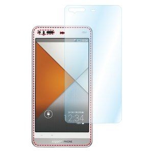 AQUOS PHONE SERIE SHL23 AFP液晶保護フィルム 指紋防止 自己修復 防汚 気泡消失 ASDEC アスデック AFP-SHL23|mobilefilm