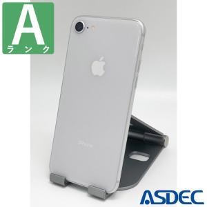 iPhone8 64GB シルバー SIMフリー 中古 Aランク mobilefilm