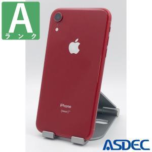 iPhoneXR 128GB レッド SIMフリー 中古 Aランク mobilefilm