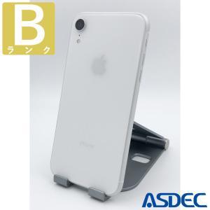 iPhoneXR 256GB ホワイト SIMフリー 中古 Bランク mobilefilm