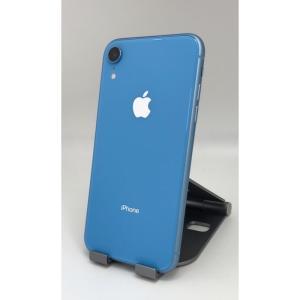【中古・Aランク SIMロック解除済】iPhone XR 128GB ブルー 利用制限○