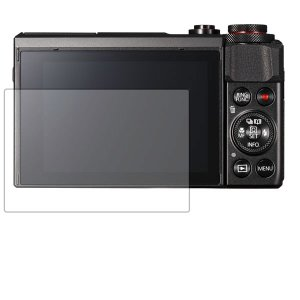 CANON PowerShot G7 X MarkII 用 目に優しい ブルーライトカット クリアタ...