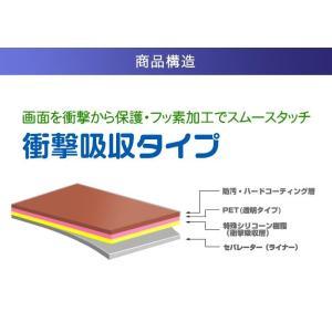 JVC BN-RB6-C/BN-RB5-C/BN-RB3-C 用 スムースタッチの衝撃吸収 フッ素加工 光沢 液晶保護フィルム ポスト投函は送料無料|mobilewin|03