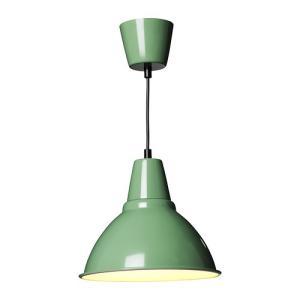 IKEA・イケア 照明・ランプ FOTOペンダントランプ, グリーン(002.373.09)|moblife