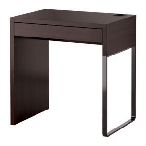 IKEA・イケア パソコンデスク・勉強机・子供机・学習机 MICKE(ミッケ) デスク, ブラックブラウン (203.542.79)|moblife