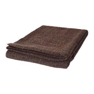 IKEA・イケア ひざ掛け 毛布 GURLI ひざ掛け, ブラウン, 120x180 cm (002.603.90) moblife