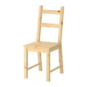 IKEA・イケア ダイニングチェア IVAR チェア, パイン材 (002.639.06)|moblife