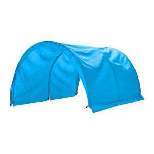ロフトベッド IKEA・イケア ベッド  KURA ベッドテント, ターコイズ (002.966.00)|moblife
