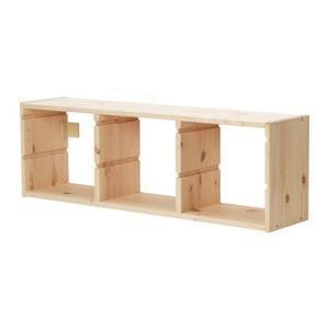 IKEA・イケア カラーボックス・おもちゃ箱・子供収納 TROFAST(トロファスト) フレーム, パイン材 (003.087.02)