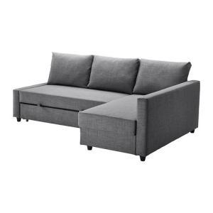 IKEA・イケア ソファ ソファベッド コーナーソファベッドFRIHETEN スキフテボー ダークグレー (092.167.55)|moblife