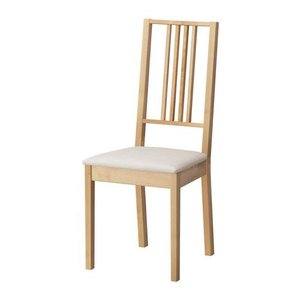 IKEA・イケア 椅子 ダイニングチェア・チェア BORJE チェア, バーチ, クングスヴィーク サンド (098.834.69) moblife