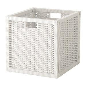 IKEA・イケア 収納ボックス・バスケット BRANAS バスケット, ホワイト(203.934.12)|moblife