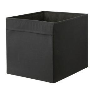 IKEA・イケア 収納ボックス・収納ケース DRONA ボックス, ブラック(102.192.82)|moblife