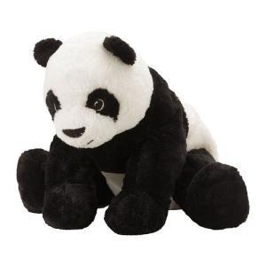 IKEA・イケア ぬいぐるみ・おもちゃ KRAMIG ソフトトイ, ホワイト, ブラック (102.213.17) moblife