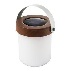 IKEA・イケア 照明・ランプ SOLVINDEN LED太陽電池式テーブルランプ, アカシア材(103.021.39)|moblife