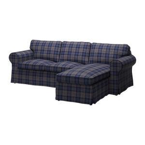 IKEA・イケア ソファ EKTORP 2人掛けソファ&寝椅子, ルートナ マルチカラー (190.024.95) moblife
