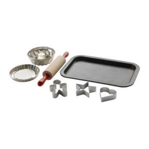 IKEA・イケア おもちゃ・ホビー DUKTIG おもちゃのベーキングセット 7点 (201.582.02)|moblife