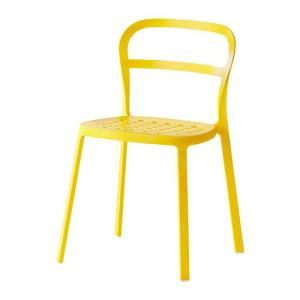 IKEA・イケア 椅子 チェア・ダイニングチェア REIDAR , イエロー (202.407.73) moblife