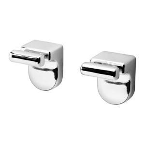 IKEA・イケア バスルーム収納・バスルームアクセサリー KALKGRUNDノブハンガー, クロムメッキ(202.914.75)|moblife