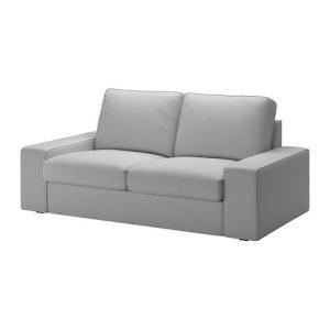 IKEA・イケア ソファ KIVIK 2人掛けソファ, オッルスタ ライトグレー|moblife